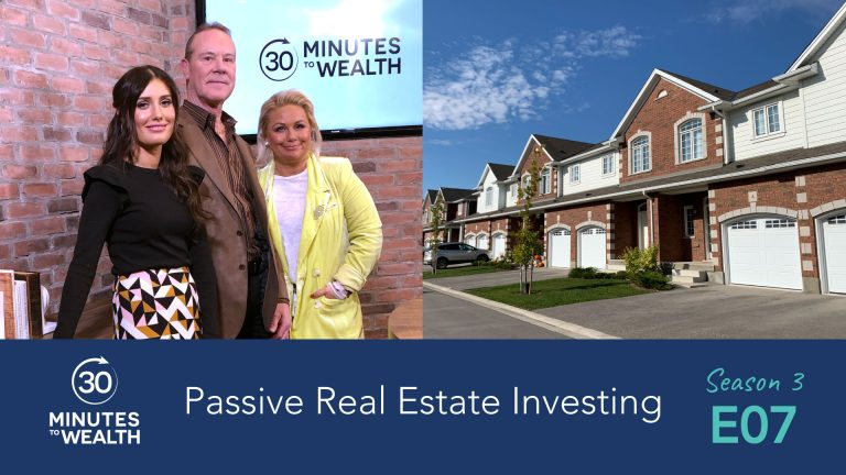 Season 3 Episode 7 – Passive Real Estate Investments