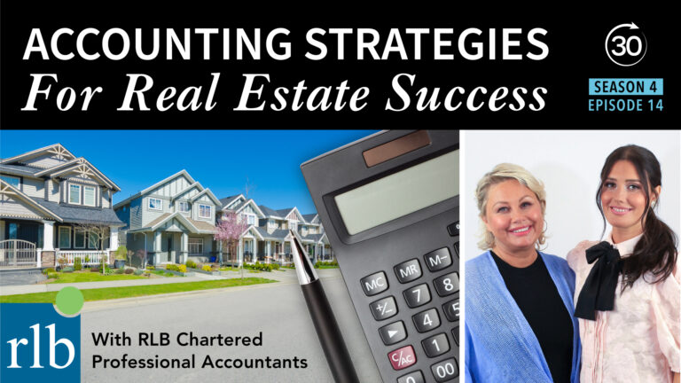 Season 4 Episode 14 - Accounting Strategies for Real Estate Success