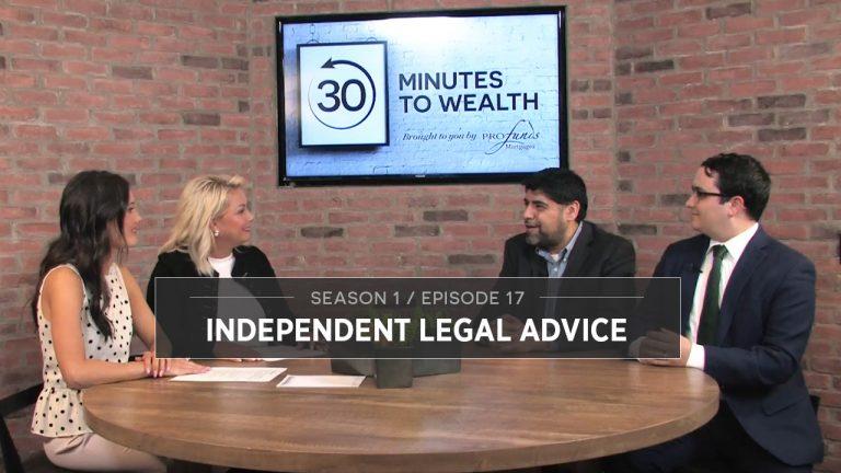 Season 1 Episode 17 - Independent Legal Advice