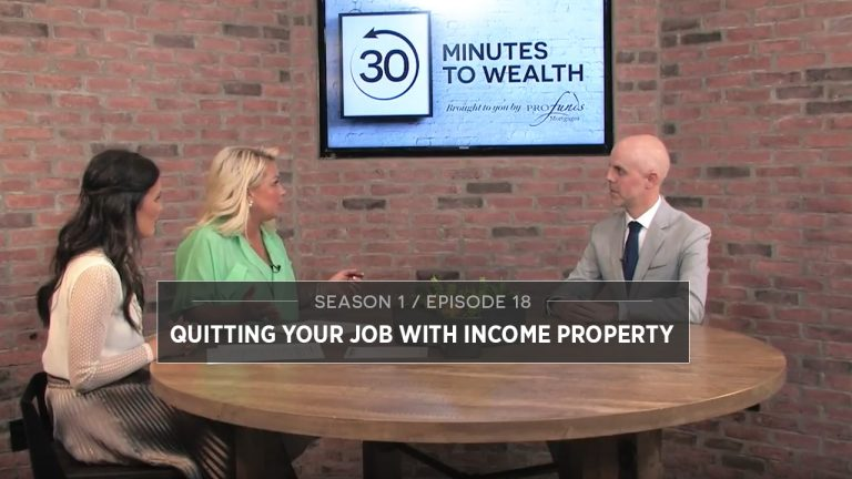 Season 1 Episode 18 - Quitting Your Job with Income Property